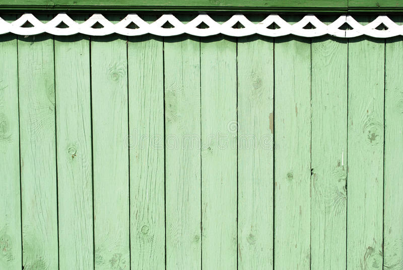 Fond en bois vert de vintage image stock