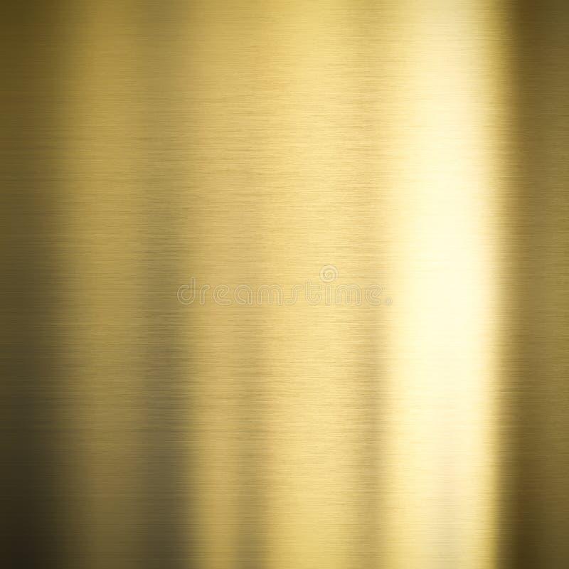 Fond en bronze en métal d'or photos stock