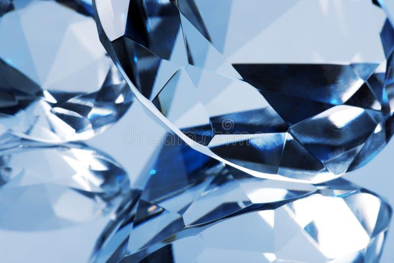 Fond en cristal photo libre de droits