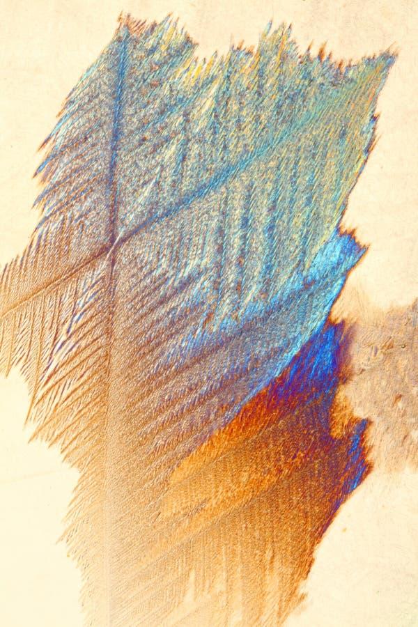 Fond en cristal coloré image libre de droits