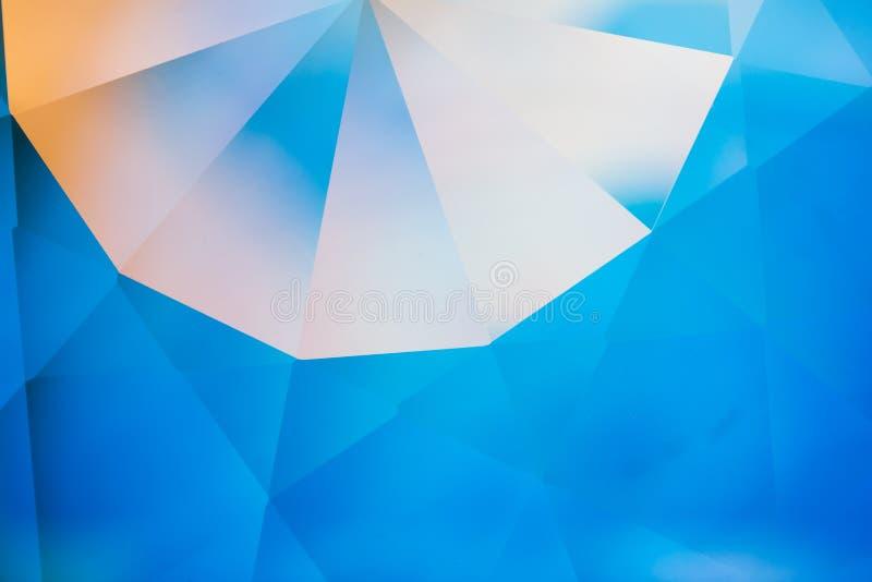 Fond en cristal de réfractions illustration stock