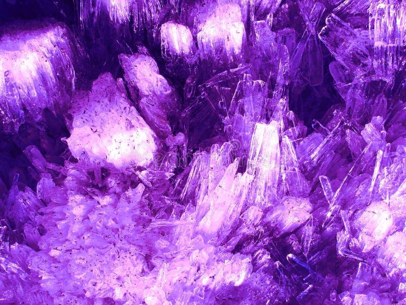 Fond en cristal rose photo stock