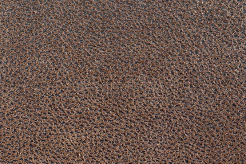 Fond en cuir abstrait brun foncé de texture photos libres de droits