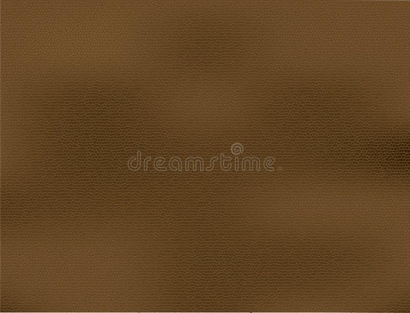 Fond en cuir de Brown illustration libre de droits
