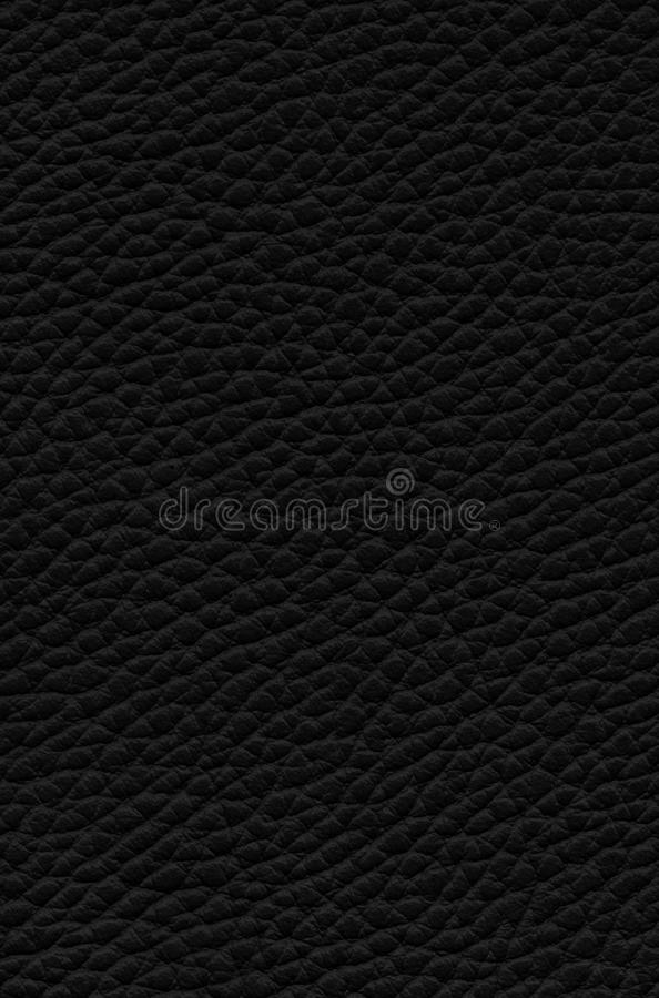 Fond en cuir noir de texture photo stock