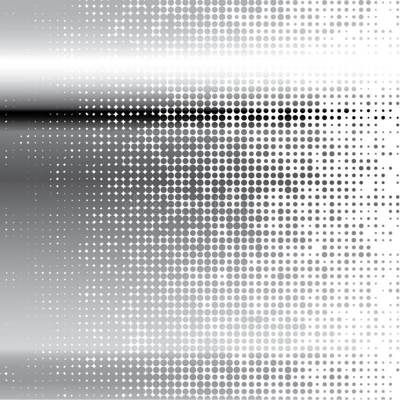 Fond en métal de point. Vecteur. illustration stock