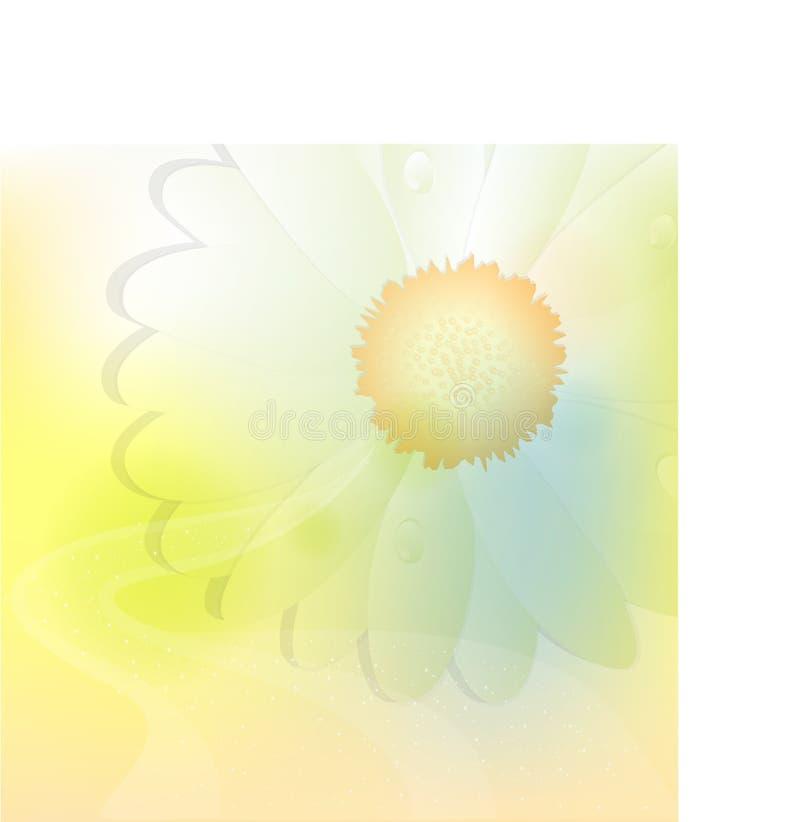 Fond en pastel illustration stock