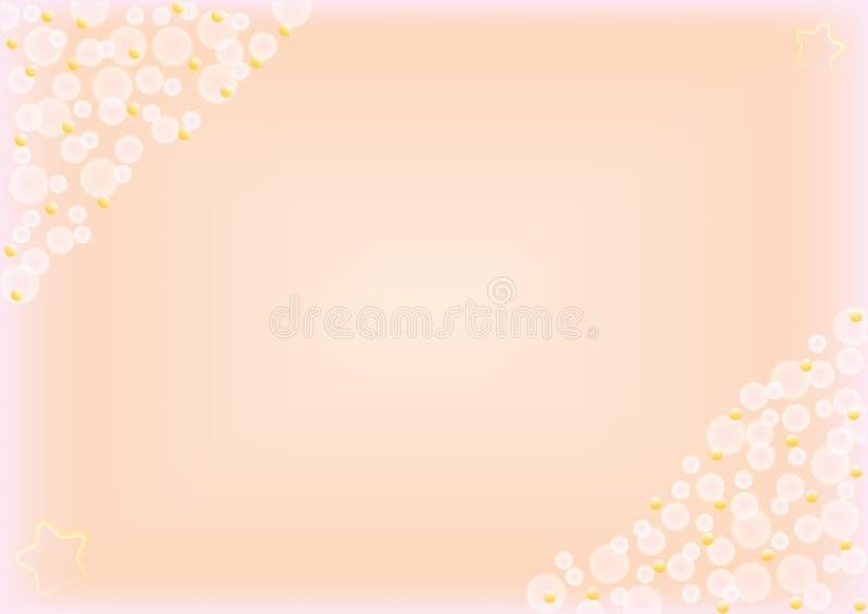 Fond en pastel abstrait avec le bokeh photos stock