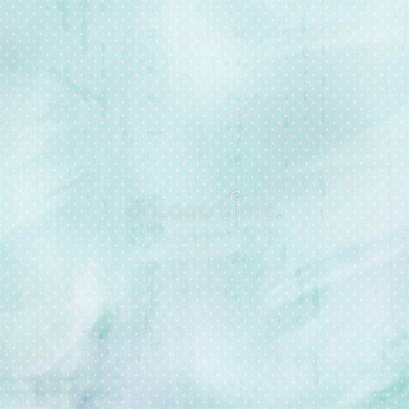 Fond en pastel bleu avec des points illustration de vecteur