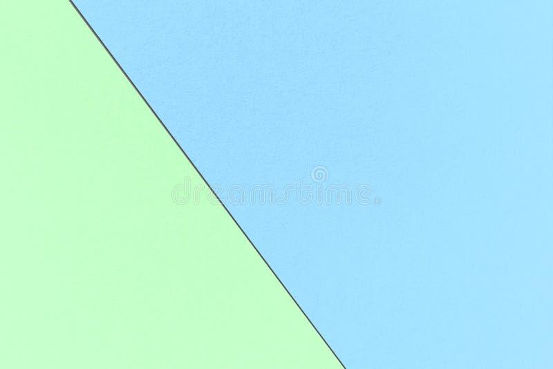 Fond en pastel d'arc-en-ciel géométrique abstrait avec Pale Cyan et des couleurs en bon état magiques, texture de papier d'aquare photos stock