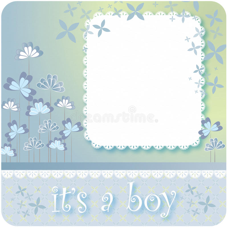Fond en pastel de bébé illustration stock