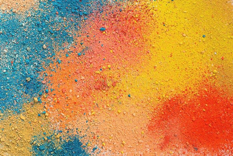 Fond en pastel de poudre images libres de droits