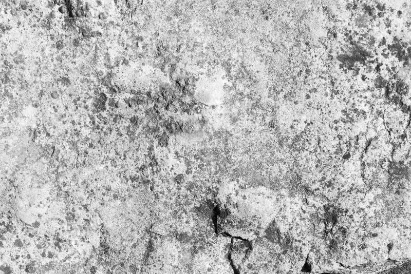 Fond en pierre abstrait noir et blanc de texture photos libres de droits