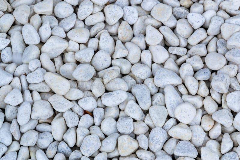 Fond en pierre de texture de cailloux blancs photos libres de droits
