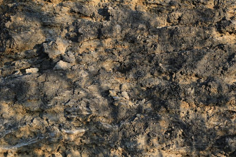 Fond en pierre de texture dans un jour ensoleillé photo libre de droits