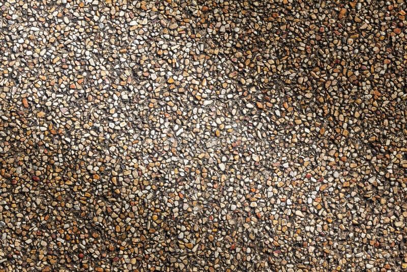 Fond en pierre de texture de cailloux de sable pour la conception images libres de droits