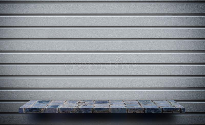 Fond en pierre gris de texture de mur de roche photo libre de droits