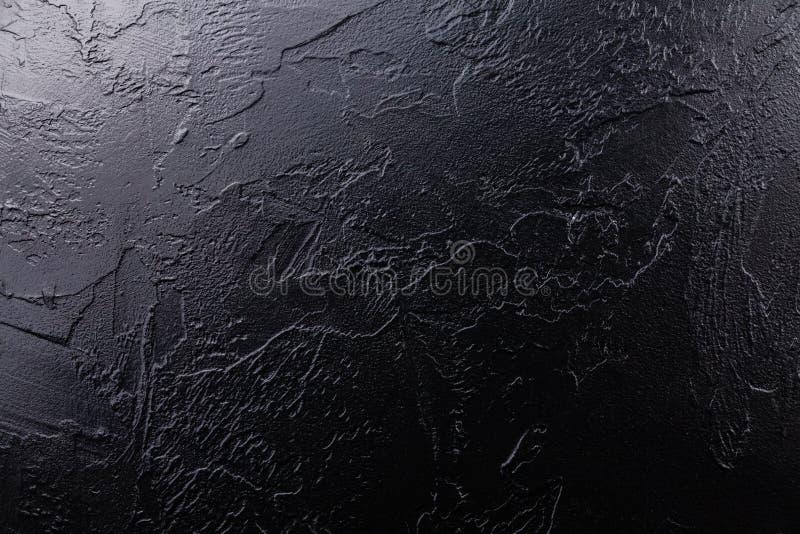 Fond en pierre noir de texture photographie stock libre de droits