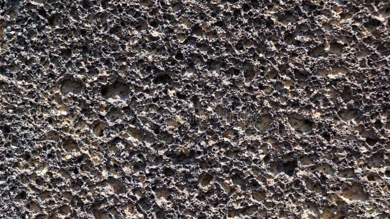 Fond en pierre poreux volcanique de texture photographie stock libre de droits