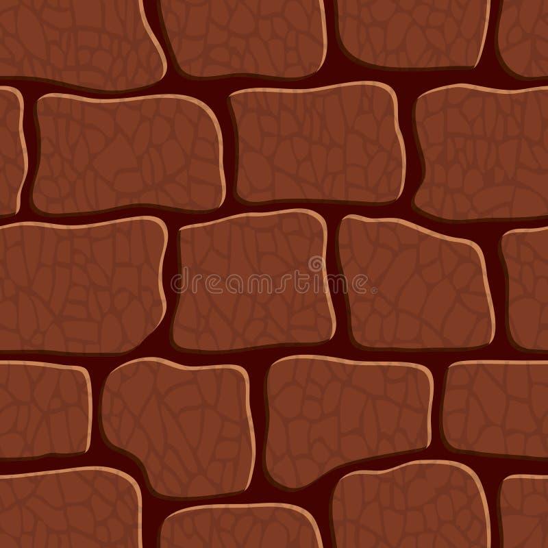 Fond en pierre. Texture sans couture. illustration libre de droits