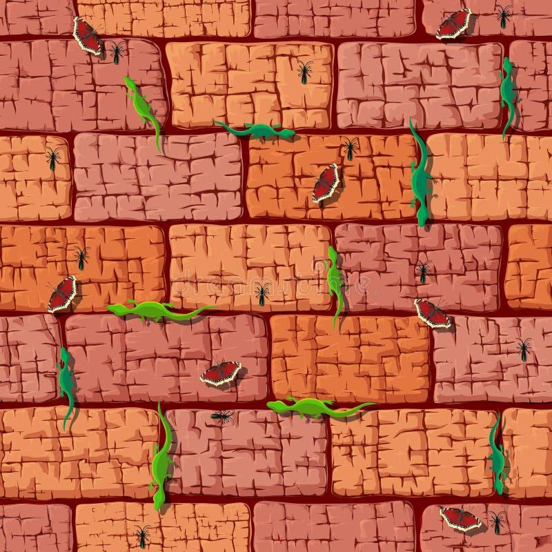 Fond en pierre Texture sans joint illustration libre de droits