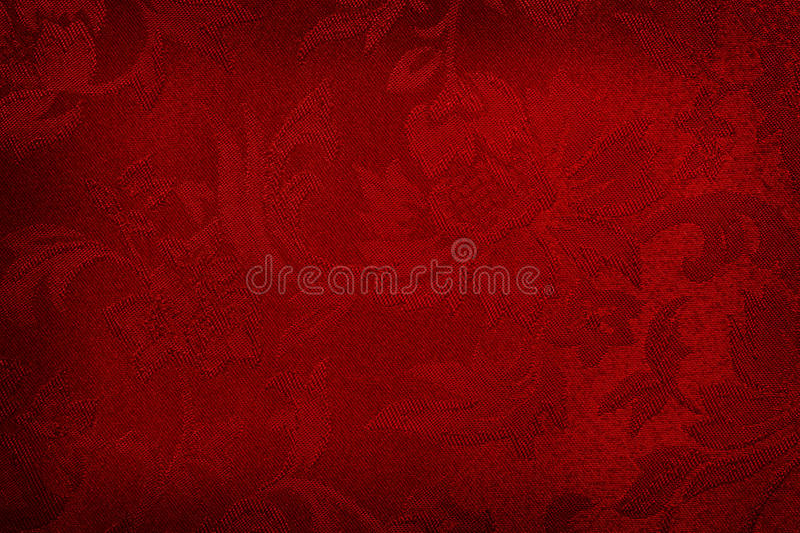 Fond en soie rouge photo stock