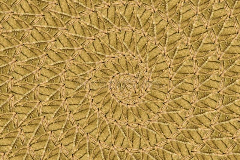 Fond en spirale brun grunge de modèle d'art illustration libre de droits