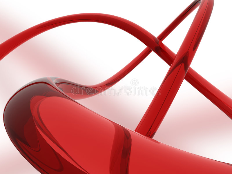 Fond en verre abstrait de fil illustration stock