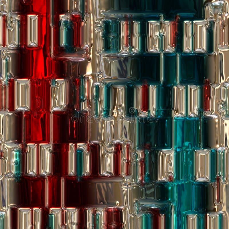 Fond en verre merveilleux illustré par résumé illustration de vecteur
