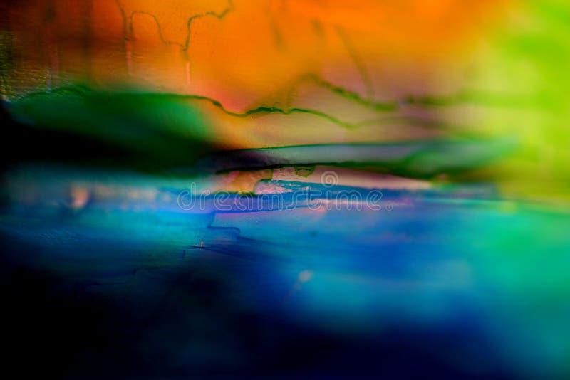 Fond en verre peint photo stock