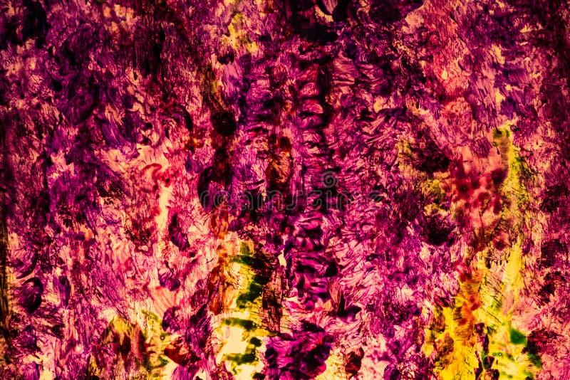 Fond en verre peint coloré photos stock