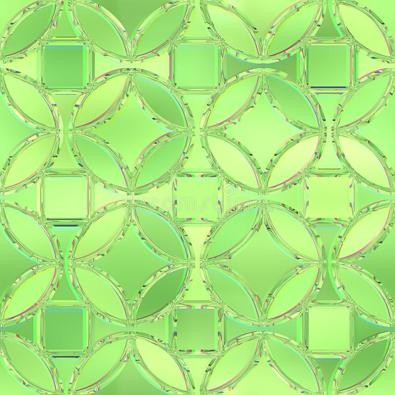 Fond en verre souillé Configuration sans joint illustration stock