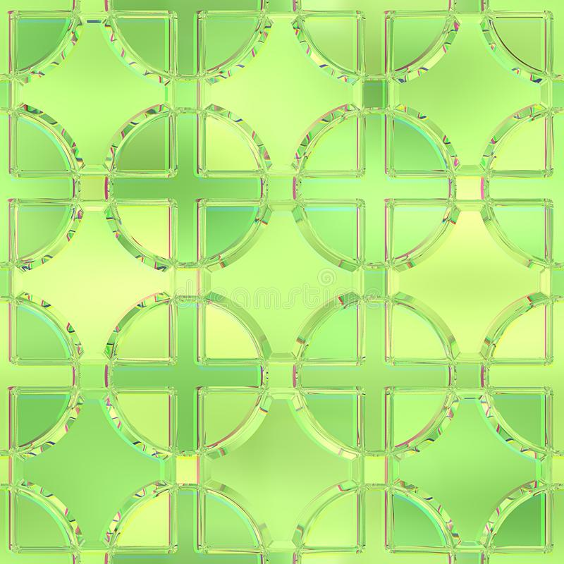 Fond en verre souillé Configuration sans joint illustration libre de droits