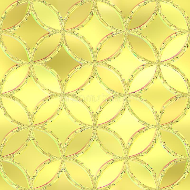 Fond en verre souillé Configuration sans joint illustration de vecteur