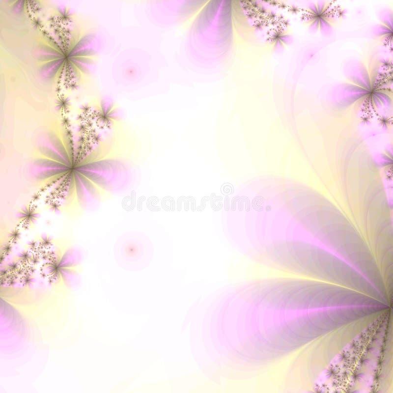 Fond en violette et or