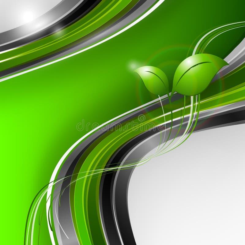 Fond environnemental abstrait de vecteur illustration de vecteur