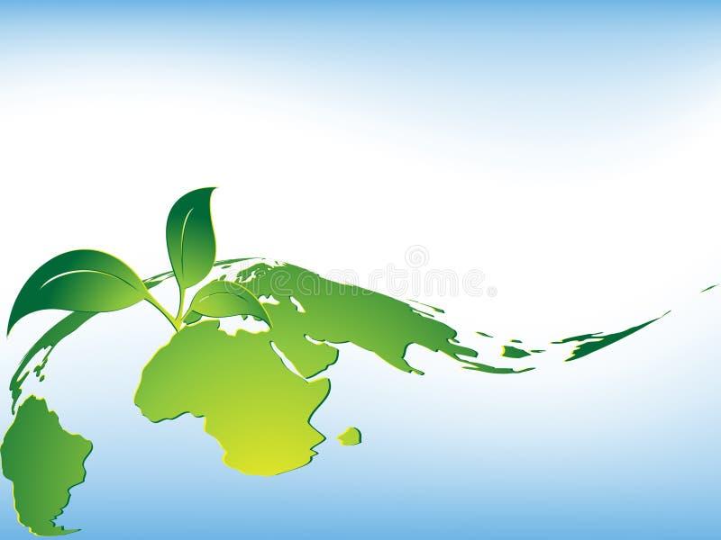 Fond environnemental de vecteur abstrait illustration stock