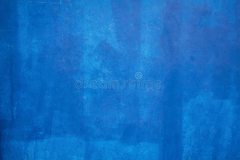 Fond et texture bleus de peinture photographie stock