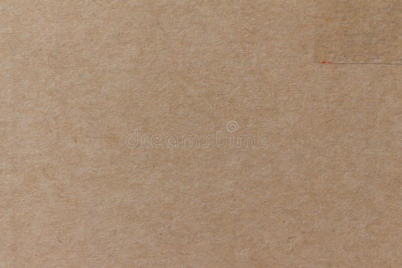 Fond et texture de papier brun image stock