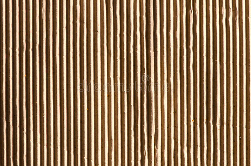 Fond et texture du mur de papier de boîte en carton photos libres de droits