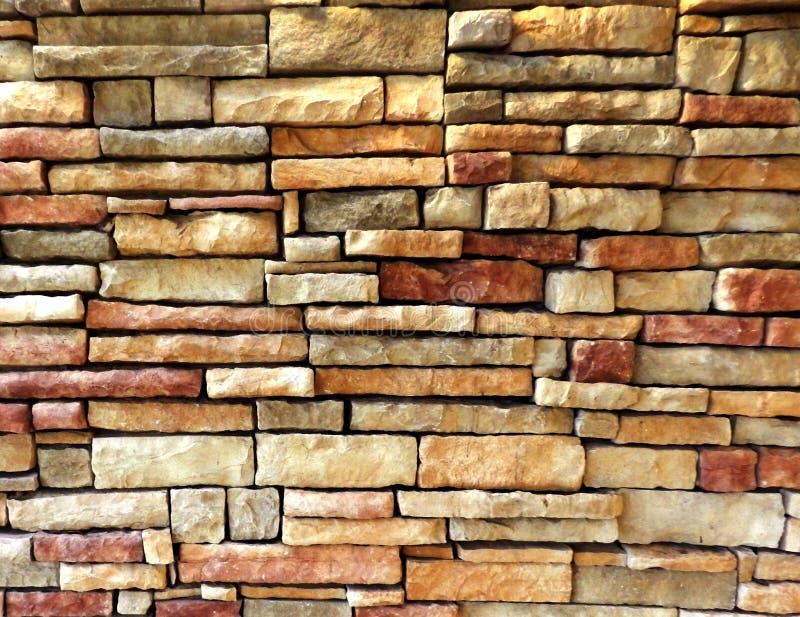 Fond Extrieur Color De Texture De Mur De Briques Image Stock