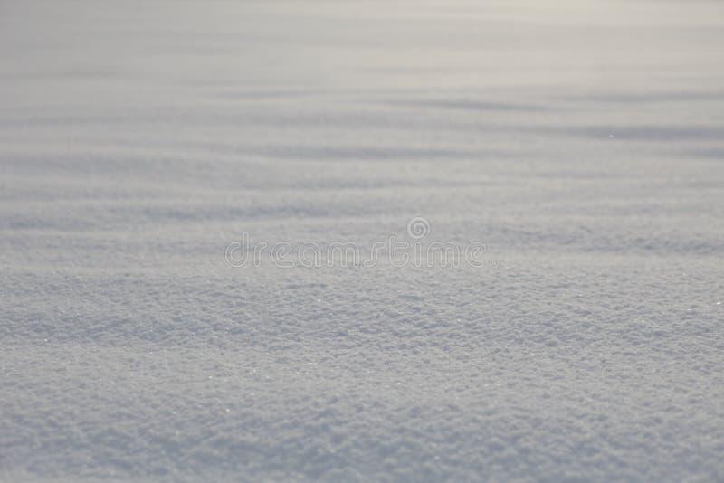 Fond extérieur de neige images libres de droits
