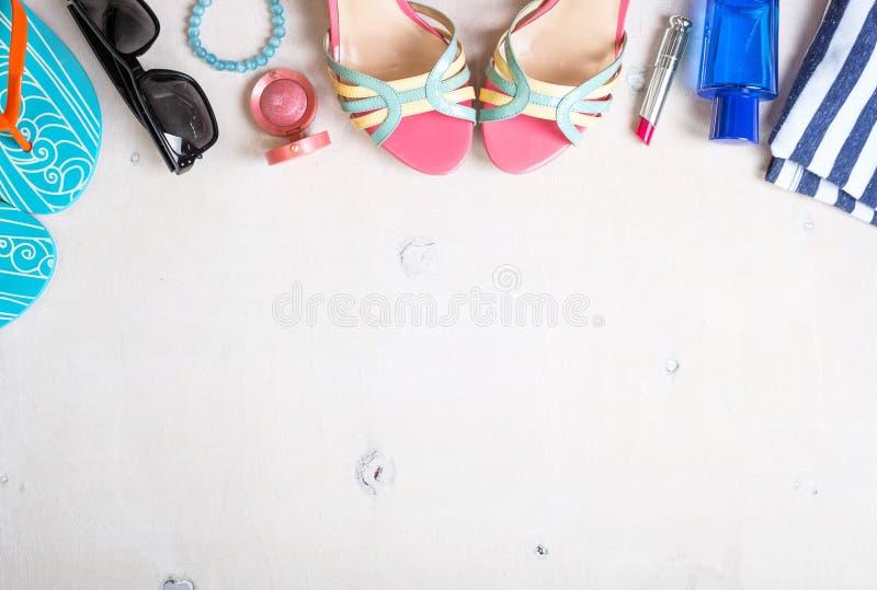 Fond féminin d'été image libre de droits