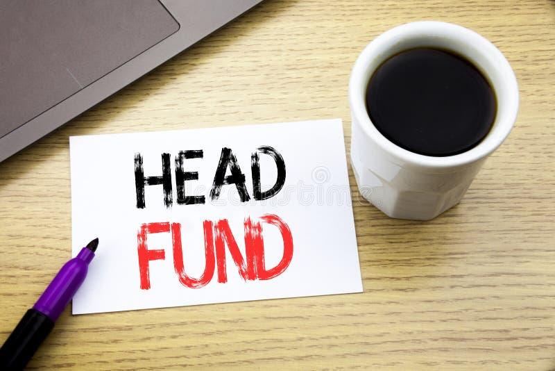 Fond för huvud för visning för handskriftmeddelandetext Affärsidé för investeringfinansieringpengar som är skriftliga på anteckni fotografering för bildbyråer