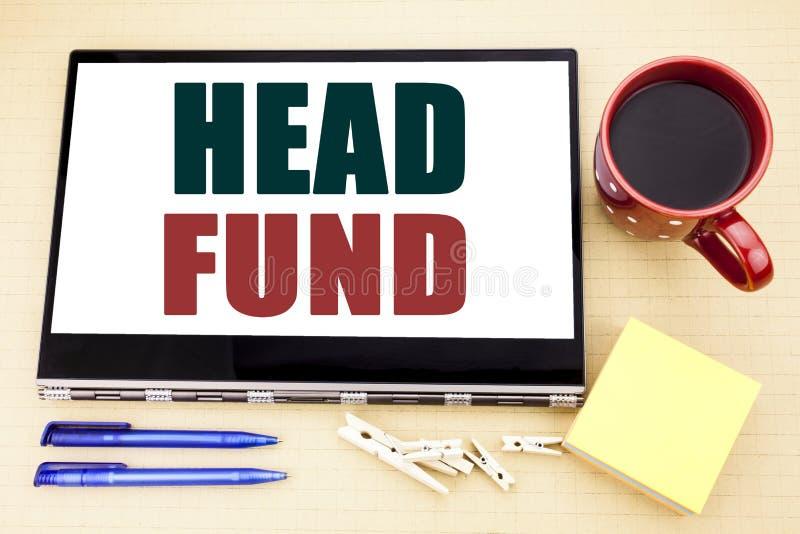 Fond för huvud för visning för inspiration för överskrift för handhandstiltext Affärsidé för investeringfinansieringpengar som är royaltyfri bild