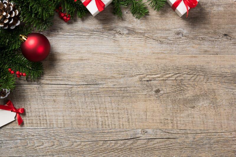Fond faisant le coin de Noël image stock