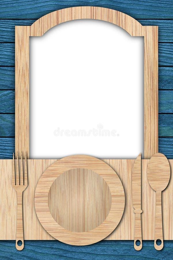 Fond fait de bois photographie stock
