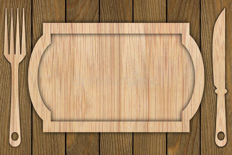 Fond fait de bois images libres de droits