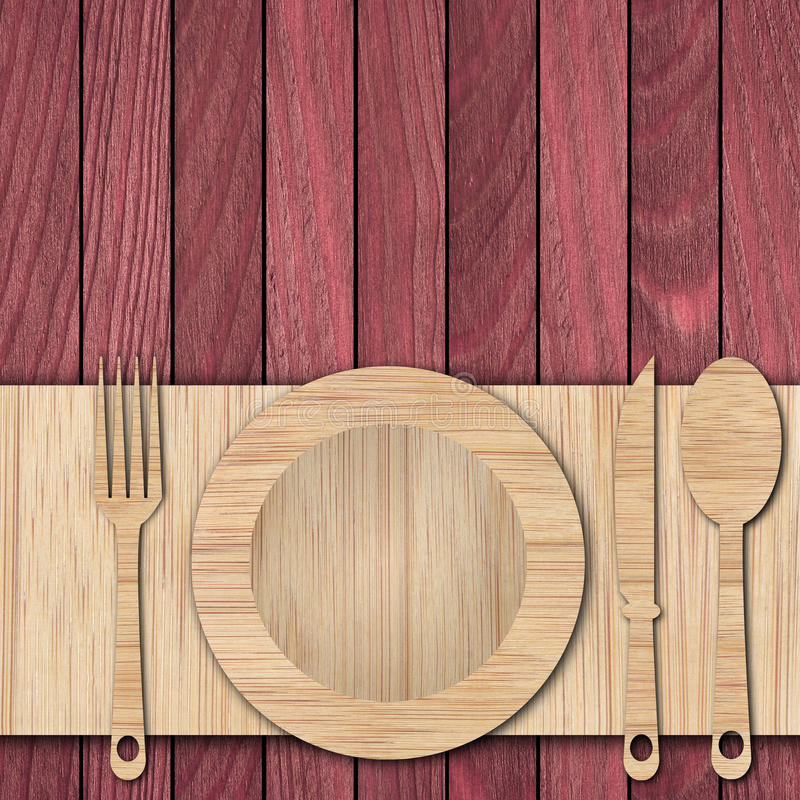 Fond fait de bois photos stock