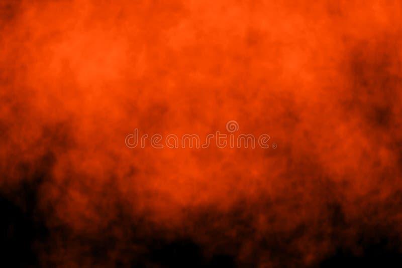 Fond fantasmagorique foncé abstrait photo stock